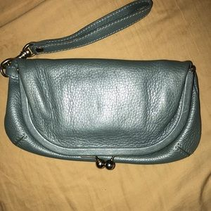 In new condition used 1 time Auth. Hobo wristlet